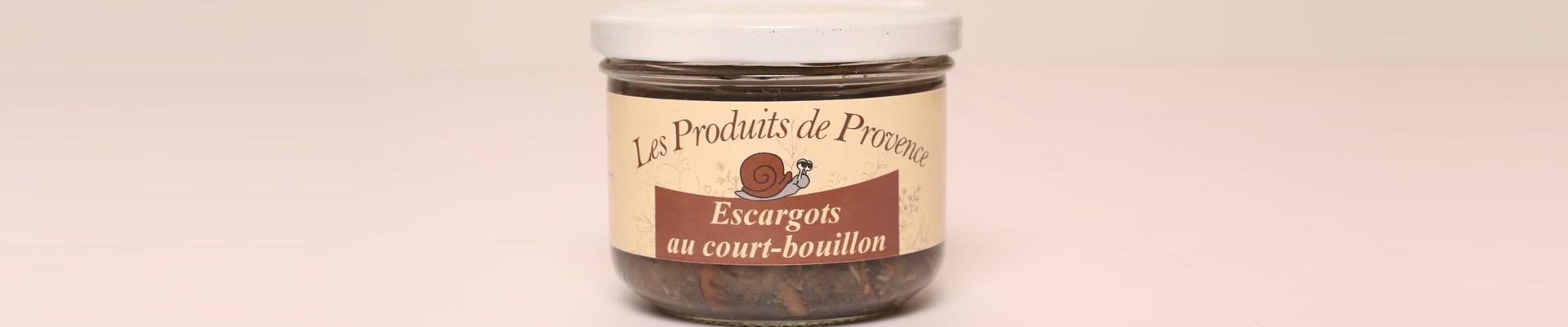 Escargots en Conserve - Les produits de Provence - Escargots, Truffes, Miel - Enclave des Papes